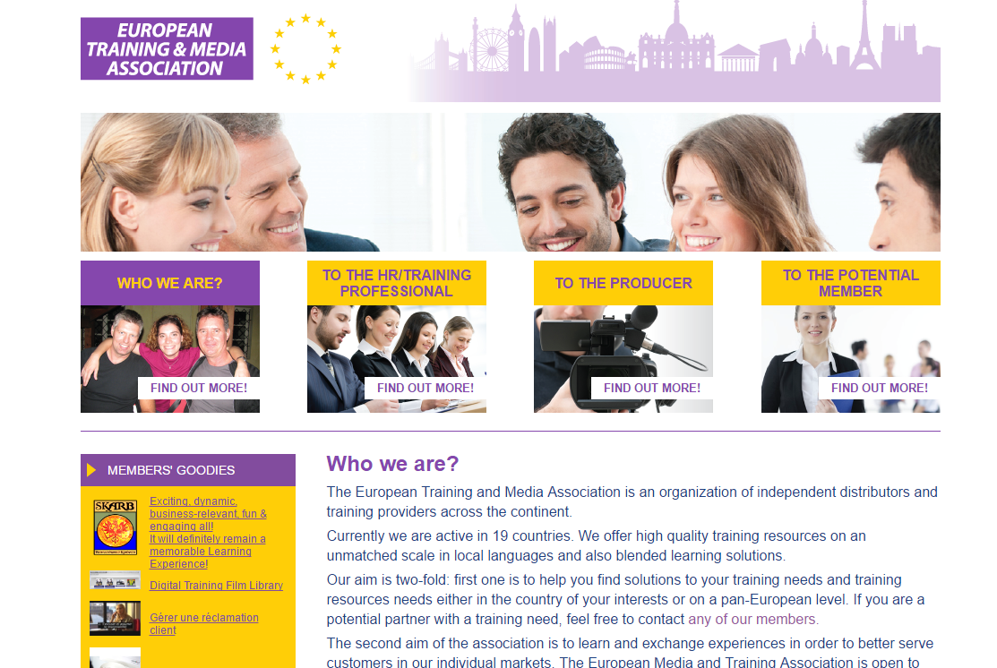 ETMA The European Training & Media Association