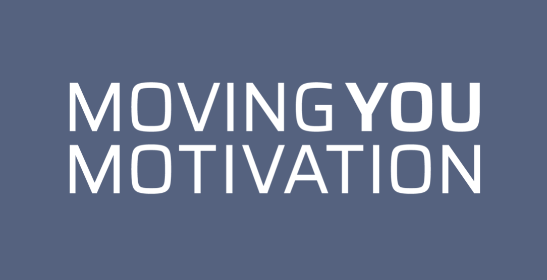 MOVING YOU MOTIVATION logo blåt