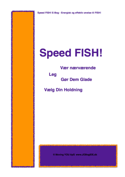 Have a great talk with Speed FISH!