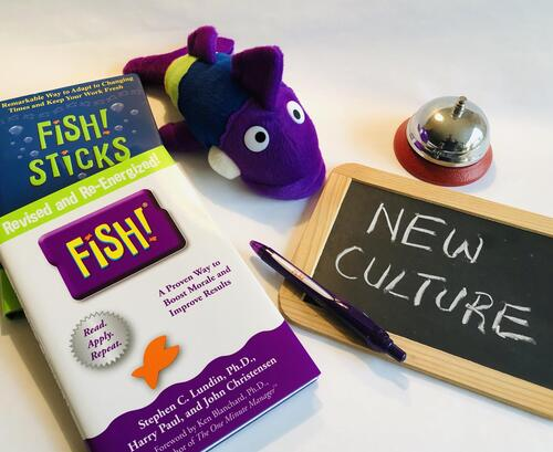 New company culture with FISH!