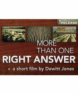 'More Than One Right Answer' with Dewitt Jones.