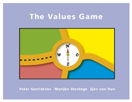 Play the values game: What is valuable to me?: This game is an aid to reaching consensus in groups, teams or organisations, on the values and norms that you all consider to be important. By using and prioritising these cards, people will not only become more aware of what they value, but also get to appreciate other people's perspectives more. Play the game as a game, a solitaire or an icebreaker.