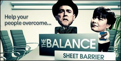 Understand finance: Stream the training film 'The balance sheet barrier' featuring Dawn French and John Cleese.