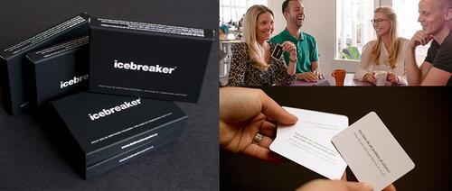 Icebreaker: Play the game with colleagues, friends and family.