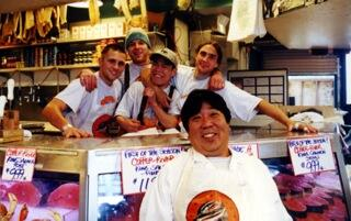 Some of the fishmongers in World Famous Pike Place Fish. Watch how they do in FISH! and choose your version.