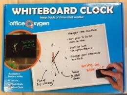The TO DO Whiteboard Clock