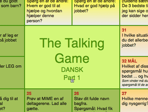 Team Game: The Talking Game