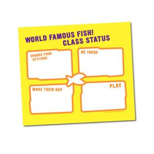 Poster: World Famous FISH! Class Status