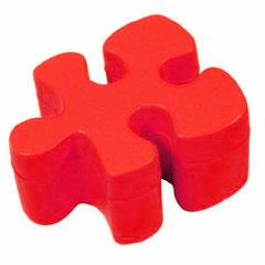 Puzzle piece in foam